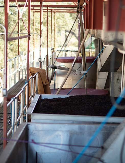 gravity flow winemaking