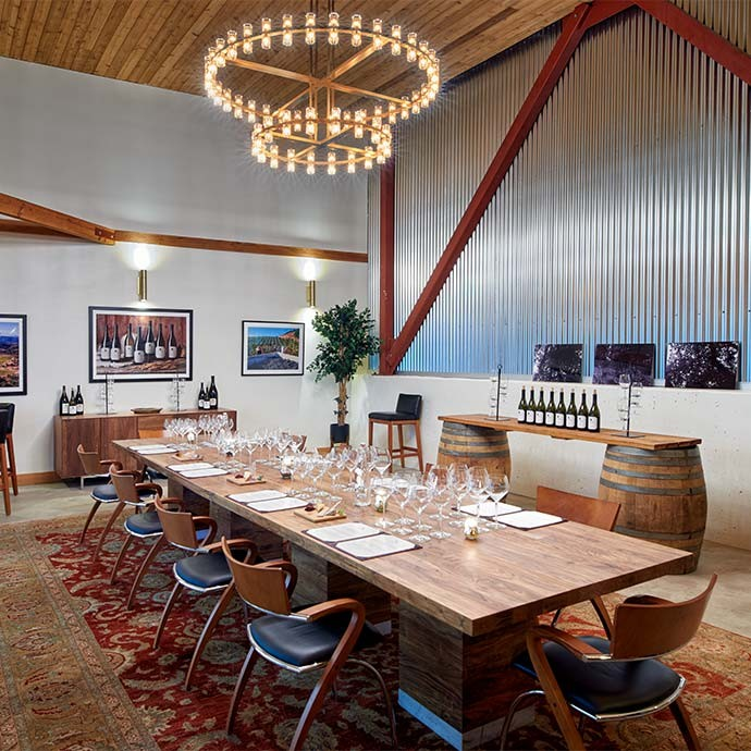 Calera Mt Harlan Tasting, Private Room