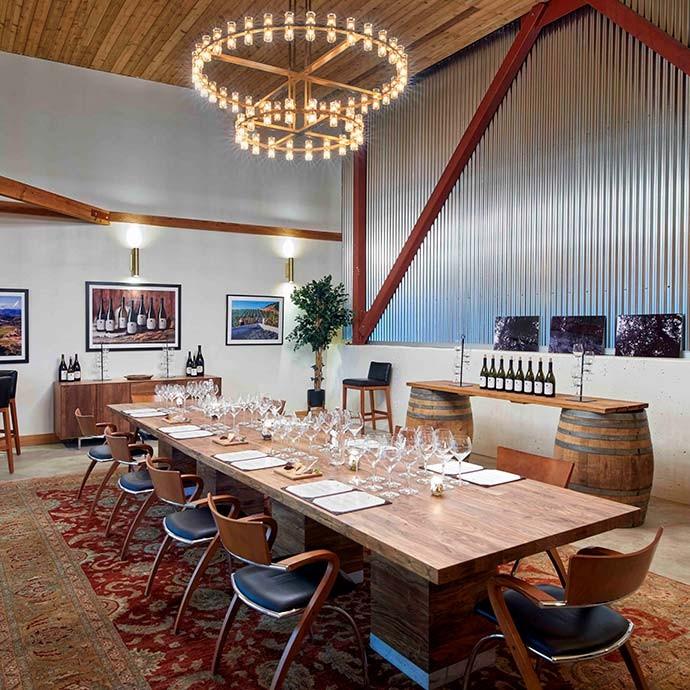 Calera Mt Harlan Tasting, Private Room