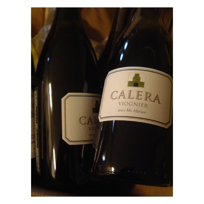 Early bottlings of Calera Viognier