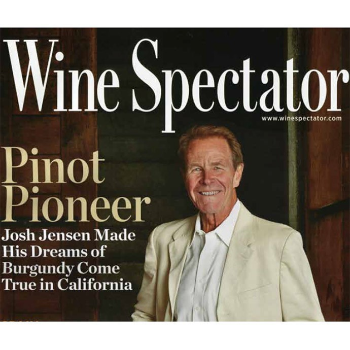 Josh Jensen on the cover of Wine Spectator magazine