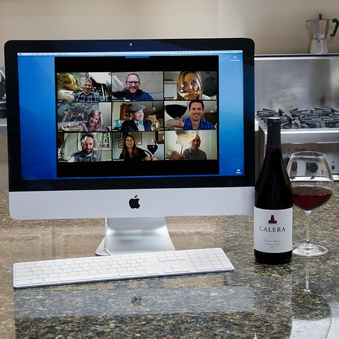 Virtual Wine Tastings with Calera
